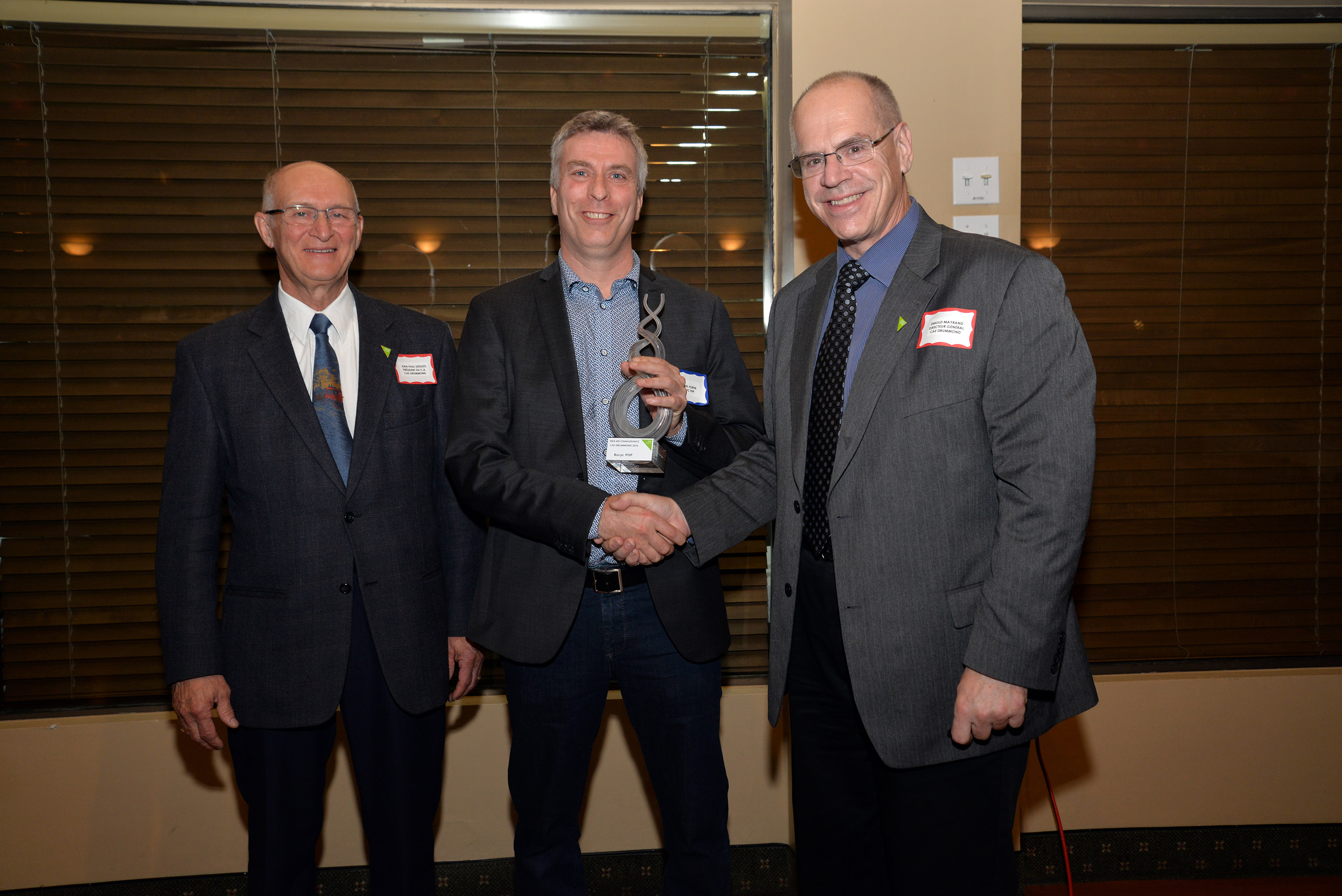 Prix Reconnaissance CAE Drummond 2016